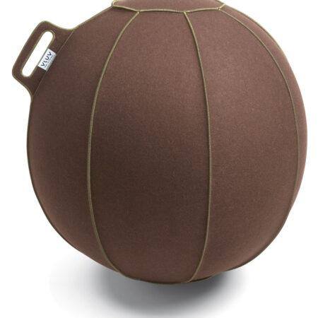 כדור ישיבה ארגונומי - VLUV VELT- תוצרת HOCK - חום (כדור פיזיו איכותי)
