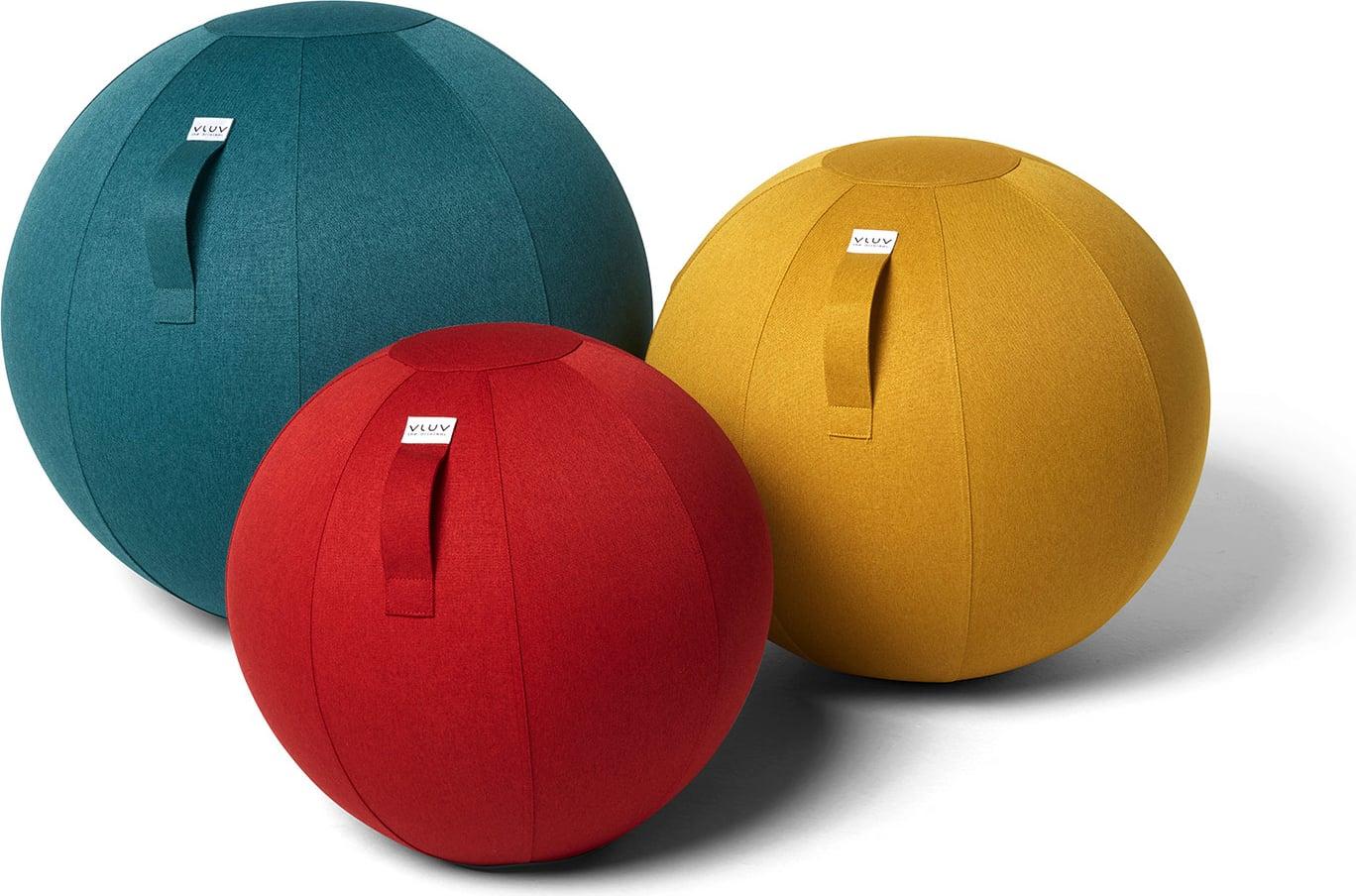 כדור ישיבה ארגונומי - VLUV LEIV Royal Blue - כחול מעמקים (כדור פיזיו איכותי)